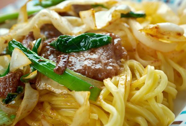 Stockfoto: Sjanghai · stijl · gemengd · groenten