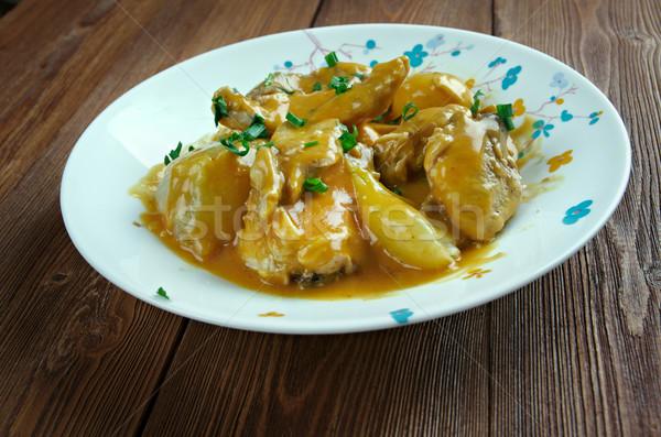 Znaczenie curry ilość cebule zarówno Zdjęcia stock © fanfo