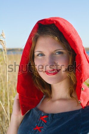 red Riding  hood Stock photo © fanfo