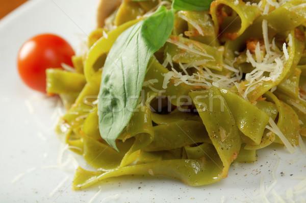 Pasta tagliatelle  Stock photo © fanfo