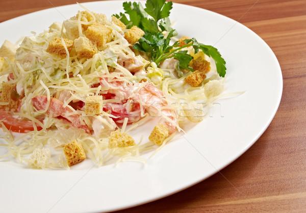 Romaine Salad Leaf  Stock photo © fanfo