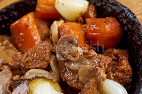venison ragout Stock photo © fanfo