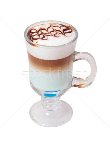 late coffee in glass bowl  Stock photo © fanfo