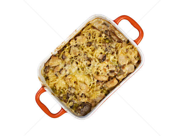 Tetrazzini is an American dish Stock photo © fanfo