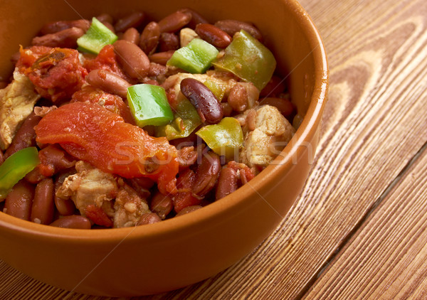 Chili con carne Spicy Homemade Stock photo © fanfo