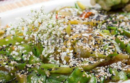 Chinese stir fried mixed vegetable Stock photo © fanfo