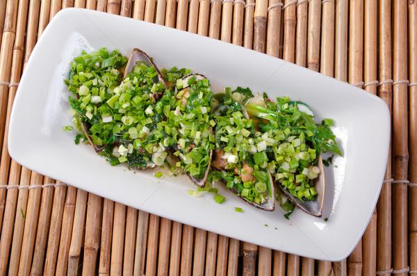 Mussels   soya sauce Stock photo © fanfo