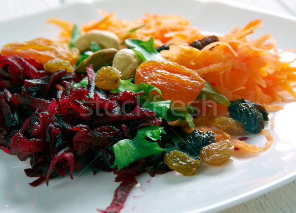 Shredded Beet  and Carrot Salad.  Stock photo © fanfo