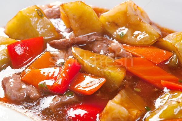 Stir Fried Vegetables Stock photo © fanfo