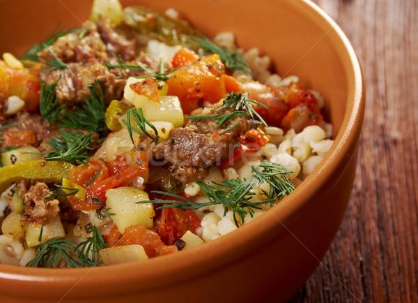 Inci arpa et sebze gıda Stok fotoğraf © fanfo