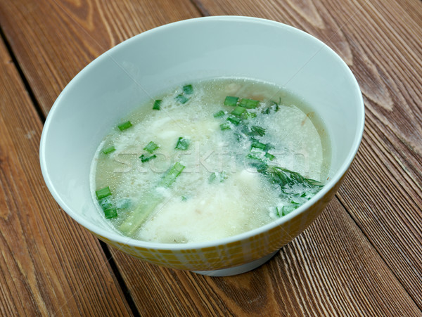 Sauer Suppe Stock photo © fanfo