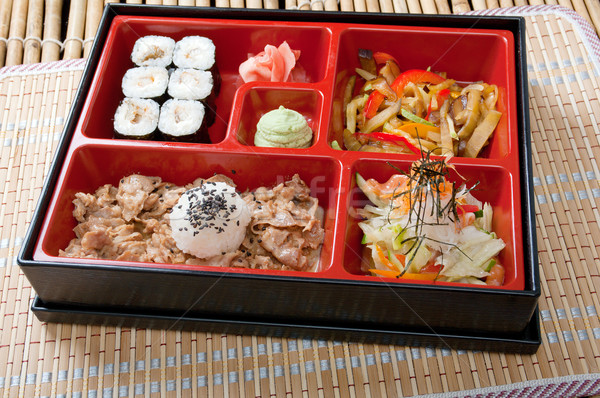 Japanese Bento Lunch  Stock photo © fanfo