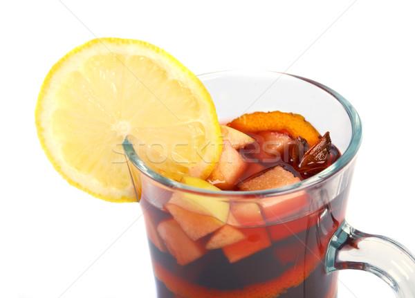 fruit citrus tropical cocktail   Stock photo © fanfo