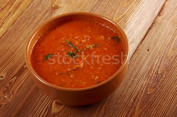 soup or Pappa al Pomodoro Stock photo © fanfo