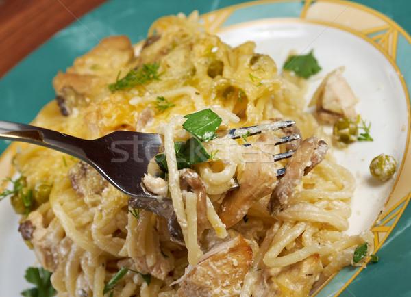 Tetrazzini is an American dish Stock photo © fanfo