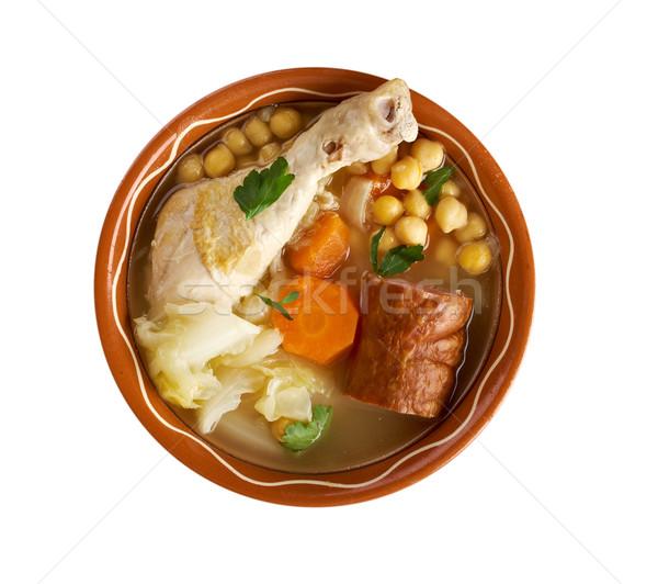'Cocido ' Madrilene Stew Stock photo © fanfo