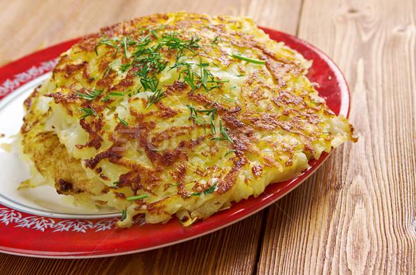 アイルランド ジャガイモ パンケーキ 伝統的な フライド 料理 ストックフォト © fanfo