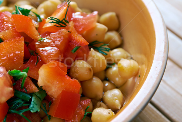 Lebanese Chickpea Balila Stock photo © fanfo