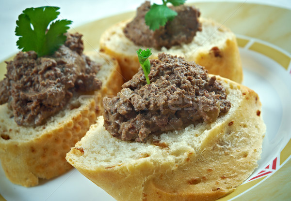 chicken liver pate Stock photo © fanfo