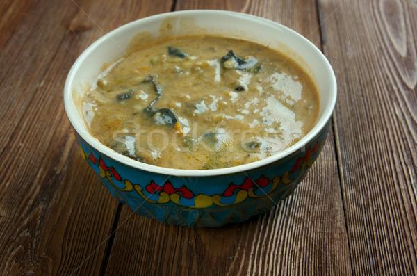 гриб суп горячей банка обеда Сток-фото © fanfo