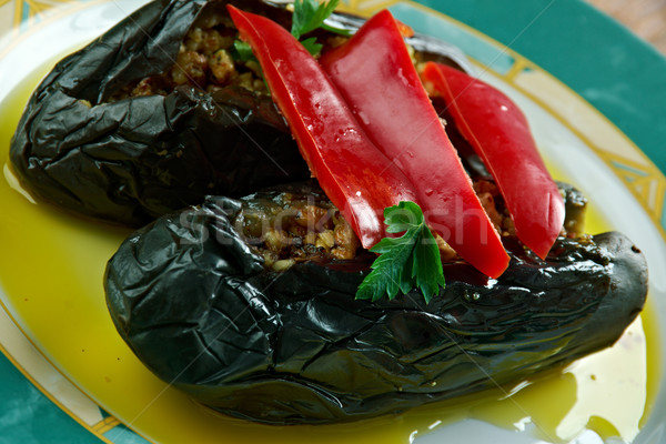 oil cured eggplants. Stock photo © fanfo