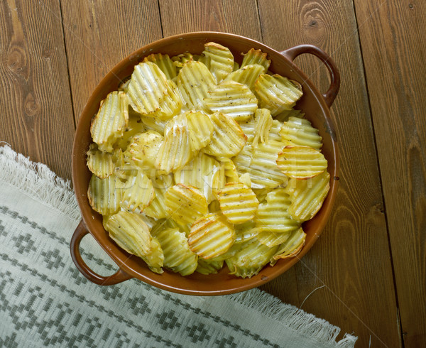 Finnish baked potatoes  Stock photo © fanfo