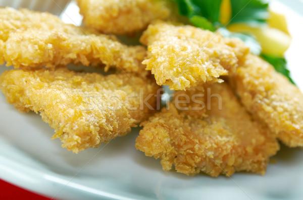 salmon croquettes Stock photo © fanfo