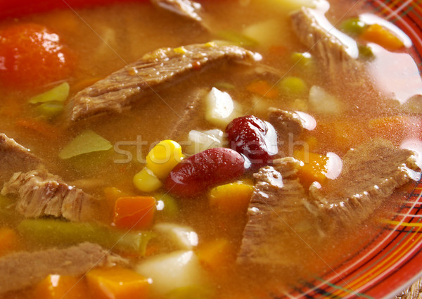 ストックフォト: 辛い · メキシコ料理 · スープ · のような · 唐辛子 · 食品