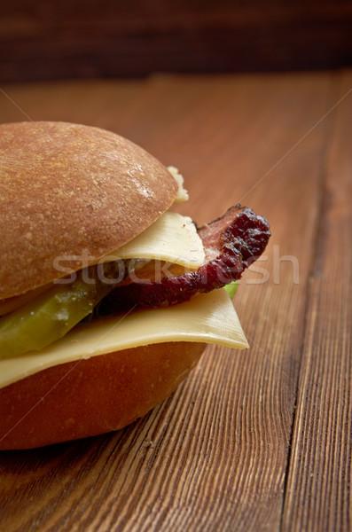 american sandwich Stock photo © fanfo