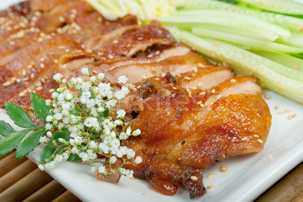 Roasted duck, Chinese style  . Shallow depth-of-field. Stock photo © fanfo
