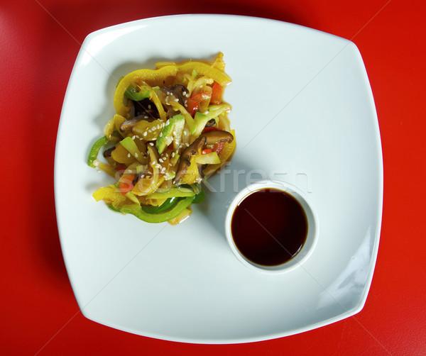 Stir Fried Vegetables. Stock photo © fanfo