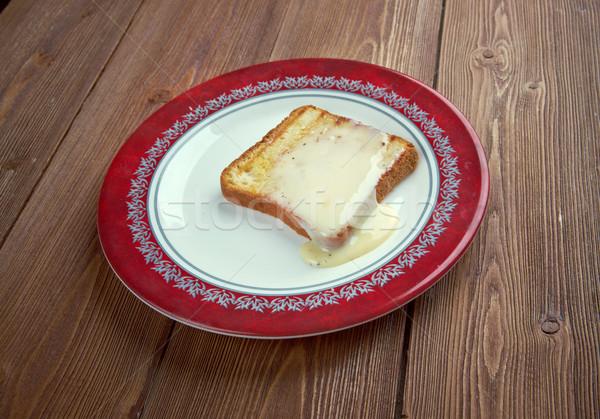 Milk toast Stock photo © fanfo