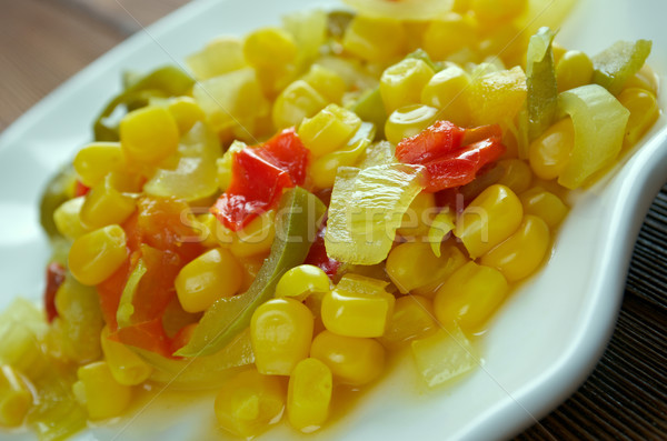 Corn relish Stock photo © fanfo