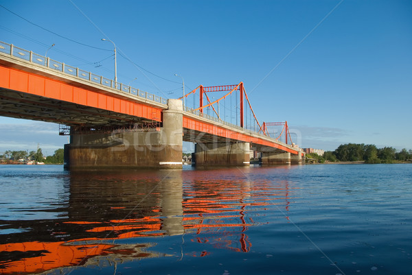 Bridge early in the morning Stock photo © fanfo