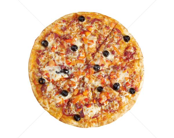 Pizza Pepperoni Stock photo © fanfo