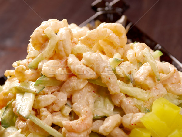 japanese salad with prawn  Stock photo © fanfo