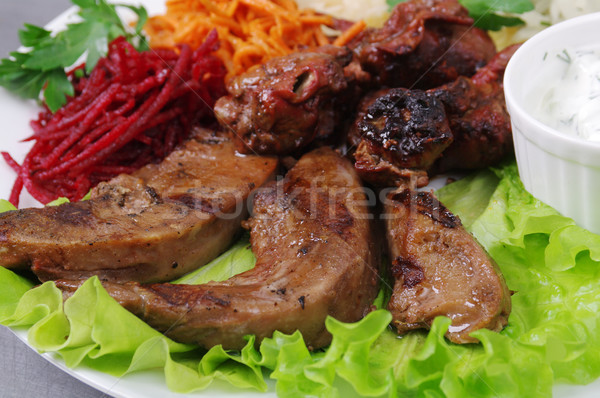 grilled blets Stock photo © fanfo