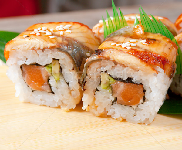 Japanese sushi  maki  Stock photo © fanfo