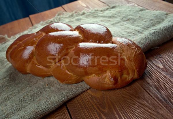 Russo crema rotolare dolce alimentare Foto d'archivio © fanfo