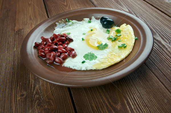 traditional Spanish breakfast Stock photo © fanfo