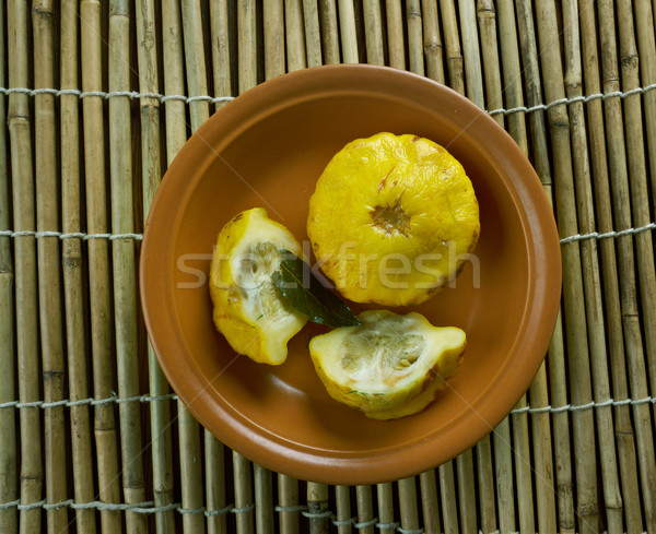 Naturelles squash maison jaune saine couvrir Photo stock © fanfo
