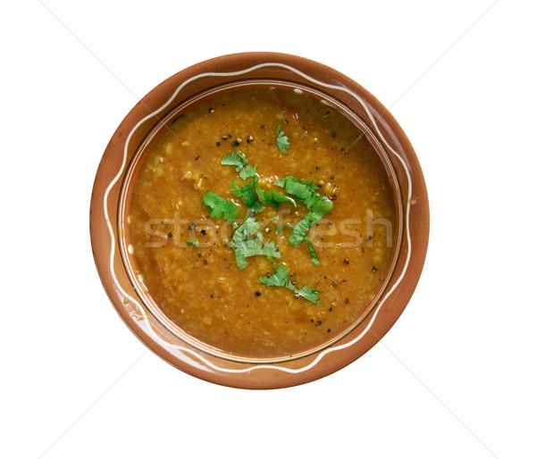 кислый горячей индийской обед суп Сток-фото © fanfo