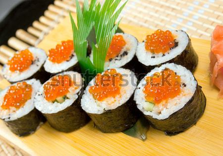 Japonais sushis traditionnel fumé poissons Photo stock © fanfo