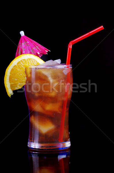tropical citrus cold cocktail   Stock photo © fanfo
