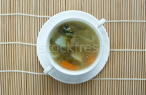 cabbage soup  Stock photo © fanfo