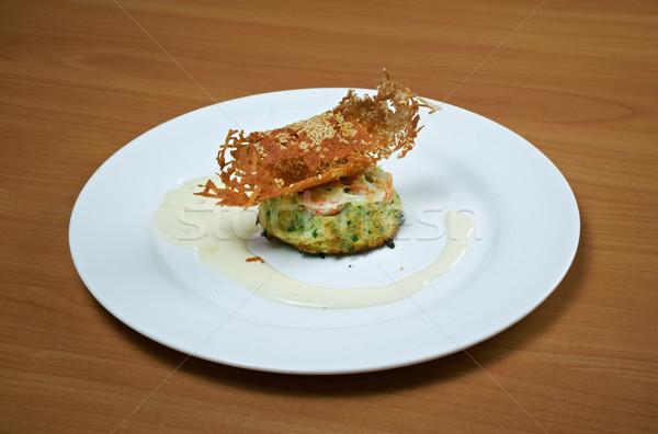 цуккини Салат обед растительное блюдо трава Сток-фото © fanfo
