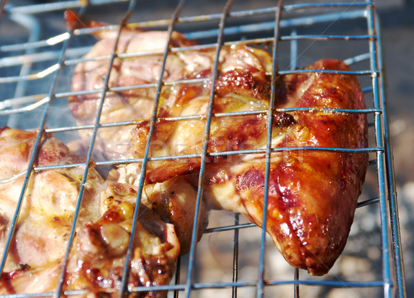 barbecue.chicken  Stock photo © fanfo