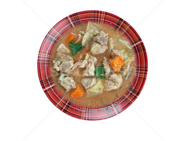 Stockfoto: Kentucky · stoven · voedsel · diner · vlees · soep