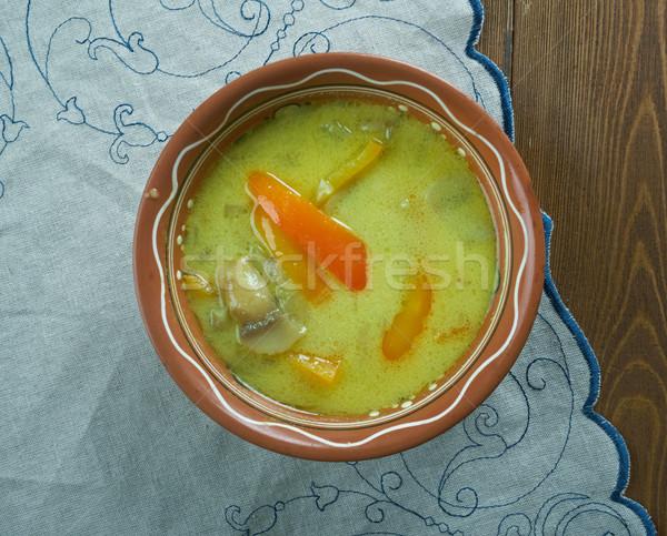 румынский суп еды приготовления Кука еды Сток-фото © fanfo