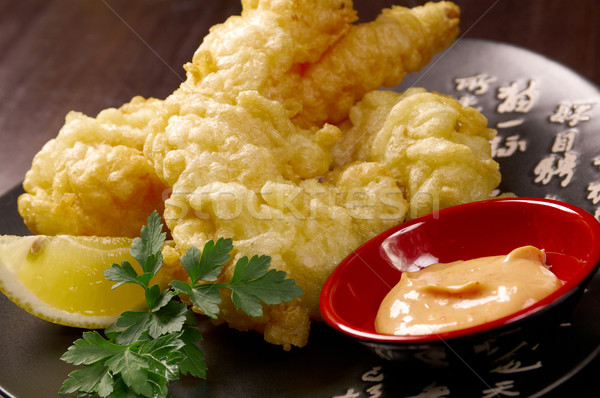 prawn Ebi tempura bowi Stock photo © fanfo